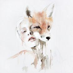 Die kanadische Malerin Jen Mann malt die menschliche Psyche und stellt das Innere da