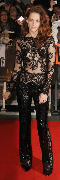 Kristen Stewart at the Breaking Dawn 2 premiere in London - November 2012