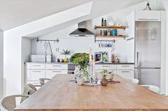 Vivir en la parte superior de un edificio antiguo | La Garbatella: blog de decoración de estilo nórdico, DIY, diseño y cosas bonitas.
