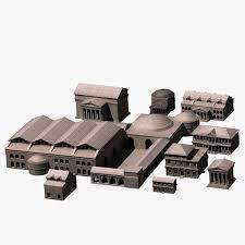 Bildergebnis für Ancient Rome buildings 3d