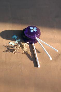 Pressed Flower Lollipops   Free People Blog #freepeople