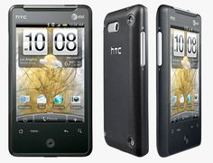 My phone: the HTC Aria