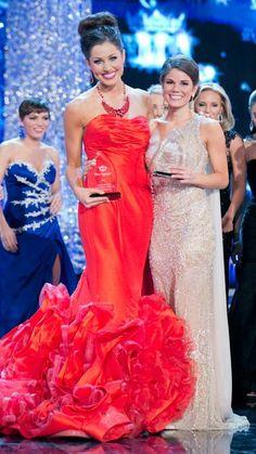 Miss America 2013 Wednesday Night Preliminary Award Winners