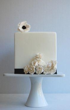 Wedding Cakes: Simple   Elegant