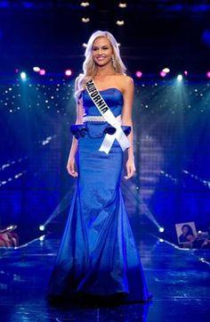 Cassidy Wolf evening gown Miss Teen USA