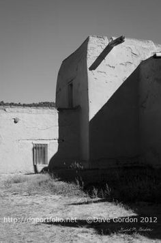 This black and white photograph of an old church was taken in las Trampas, New Mexico. http://www.dgportfolio.net/church-las-trampas-ii/