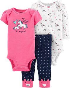 1Set Newborn Toddler Boys Girls Short Sleeve Round Neck Penguin Printing Tops Headband Long Pants Clode/® for 0-2 Years Old Baby