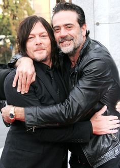 — norman reedus & jeffrey dean morgan. × october 23, 2016 ×