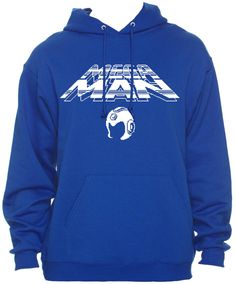Retro Nintendo Megaman Hoodie by SuperBitKicks on Etsy, $34.99