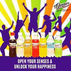 Available in 7 unique, refreshing and yummy flavours, our newest soft drink, Opener is truly mind-blowing. Have you tried it yet? #OpenYourSense   #Opener   #7Flavours   #Refreshing
