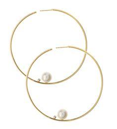 LaurenChisholm.com - Gold Pearl Large Hoop Earrings  , $2,890.00 (http://www.laurenchisholm.com/gold-pearl-large-hoop-earrings/)