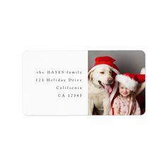 Fun Christmas Photos, Christmas Design, Holiday Photos, Christmas Fun, Custom Address Labels, Return Address Labels, Christmas Envelopes, Minimalist Christmas, Christmas Wonderland