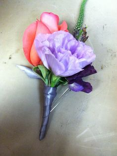 fancy boutonniere