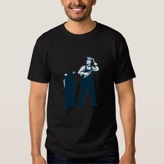 Welder Standing Visor Up Retro Shirt. Illustration of welder worker standing with visor up looking to the side holding welding torch with tank viewed from front set on isolated white background done in retro style. #Illustration #WelderStandingVisorUp