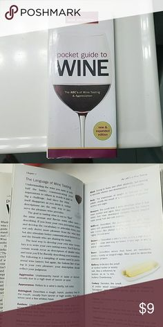 Book about Wine The ABCs of Wine Tasting and Appreciation.  There is a dedication written on the inside first page. Accessories