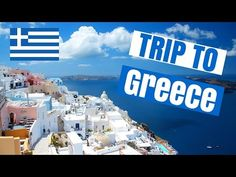An awesome travel guide to Greece, in a vlog style video! I'm going to bring you guys with me on a trip to Greece! Greece Vacation Spots, Greece Vacation Packages, Best Vacation Destinations, Santorini Island Greece, Greece Hotels, Greece Tourism, Greece Travel, Italy Travel, Greece
