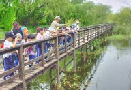 Sabal Palm Bird Sanctuary. Dad enjoyed volunteering here during the winter months spent in Brownsville Texas