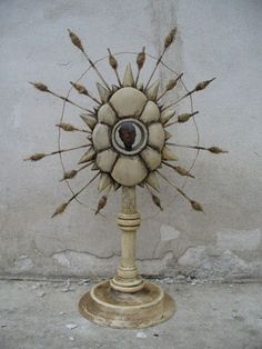White reliquary,monstrance Contemporary, Art, Art Background, Kunst, Performing Arts, Art Education Resources, Artworks