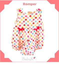 Cute little Romper for your baby girl! From BabyK. Custom Made, Peplum, Rompers, Girls, Cute, Baby, Color, Outfits, Tops