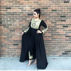 Afghan Clothes, Afghan Dresses, Indian Suits, Indian Wear, Hijab Style Dress, Kurta Designs Women, Desi Clothes, Silk Gown, Indian Designer Wear