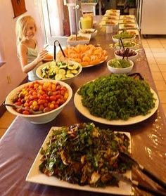 If only I had a raw food chef living in my home. I would have a raw food bar every day <3