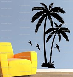 Florida Coconut Palm Tree with Bird Wall Art Vinyl Decal ... https://www.amazon.com/dp/B00KXFTRFG/ref=cm_sw_r_pi_dp_dgHCxbM4NHHFK