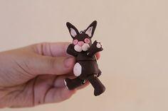 Little Rabbit #tiny #little #rabbit #bjd #coldporcelain #handmade