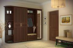 Серия мебели для прихожей «Александрия» в цвете «Орех» в интернет-магазине «Любимый Дом» - lubidom.ru #lubidom