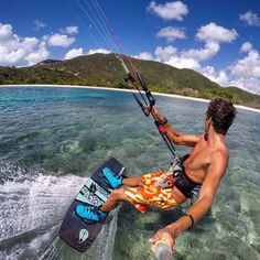 L i f e is meant to be enjoyed! Get out there and make your dreams a reality! #BasixsLife #GoPole #GoPro #Kiteboarding #Kitesurfing #OzoneKites #TonaLife