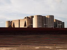 National Assembly building Dhaka by Louis Kahn