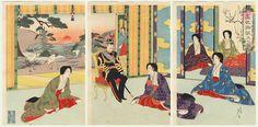 Birth of the Future Emperor Showa, 1901 by Nobukazu (1874 - 1944)
