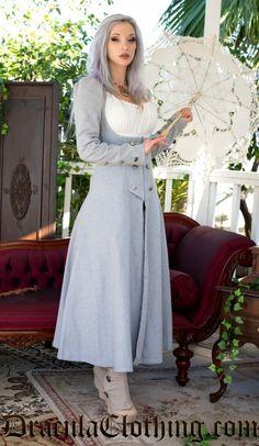 Lady Grey Coat