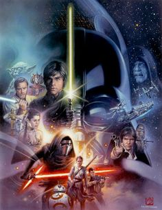 'Star Wars' by Tsuneo Sanda, used as cover art for a special edition of Newsweek magazine.