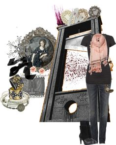 """Viva la Revolution"" by onemissingbutton ❤ liked on Polyvore"
