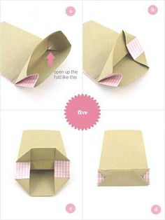 DIY favor bag