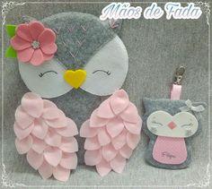 Lindos y tiernos diy & crafts that i love фетр, Felt Crafts Diy, Felt Diy, Handmade Felt, Crafts To Make, Sewing Crafts, Crafts For Kids, Felt Animal Patterns, Owl Patterns, Felt Owls
