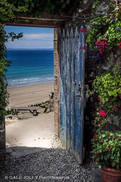 The City Never Sleeps — lovewales: Druidstone Hotel, Pembrokeshire Wonderful Places, Beautiful Places, Beautiful Pictures, Unique Doors, Old Doors, Fantasy Landscape, Strand, Scenery, World