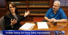 WAUKEGAN (Jan. 23, 2017) Partner Jennifer Ashley and her partner Bill Bertram were interviewed by the Daily Herald s Bob Susnjara about the dangerous Grand Avenue exit along I-94. The story was also featured on ABC 7 Chicago Sunday morning.... The post Accidents create need for changes at Gurnee tollway exit appeared first on Salvi, Schostok & Pritchard P.C..