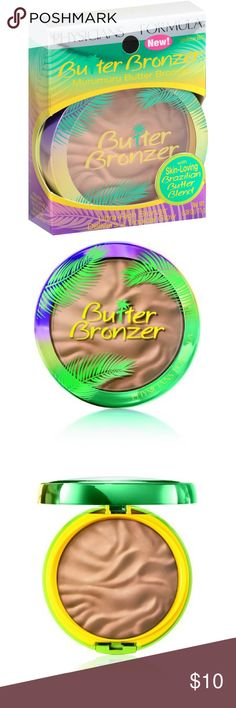 ☀️NEW Physicians Formula Butter Bronzer - Light 🏝BRAND NEW, still sealed in box. From my smoke free home. Light Bronzer. Original Retail: $16.   ☀️ABOUT: Physicians Formula Butter Bronzer Murumuru Butter Bronzer is an ultra-luxurious bronzer infused with Murumuru Butter, delivering a radiant Brazilian goddess glow! Moisturizing wonder features ultra-refined pearl and soft-focus pigments that smooth skin texture, brighten skin tone and deliver a gorgeous bronze finish. Physicians Formula…