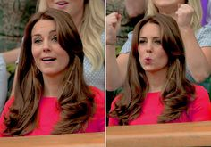 Catherine, Duchess of Cambridge attends day nine of the Wimbledon, July 8, 2015.