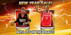 For Limited Time the Mythic A Iverson and D Mutombo Drafts are 60% Off! Good Luck Drafting!
