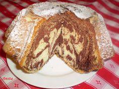 Ez a kuglóf amolyan kedély-javító, egy illatos forró csokival, hmmm… Ring Cake, Savarin, Scones, Sweet Recipes, Fudge, French Toast, Muffins, Food And Drink, Breakfast