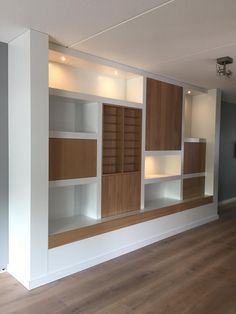 Alcove Ideas Living Room, Ikea Living Room, Living Rooms, Built In Wall Shelves, Living Room Upgrades, Kitchen Wall Units, Living Room Tv Cabinet, Creation Homes, Muebles Living