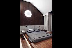 12 Apartment in Gdańsk//Formativ. Leroy Merlin, Bathroom Lighting, Mirror, Interior Design, Bedroom, Furniture, Home Decor, Poland, Anna