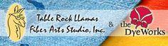 Tablerock Llamas Fiber Arts  Studio - Immersion Dyeing instructions, dyes, roving, etc