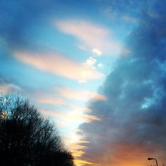 NW Cardiff Winter sunset - photo by PHS