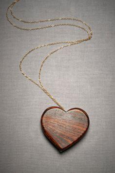 Whittler's Heart Necklace - BHLDN