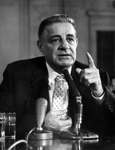 Mobster Joseph Valachi, once a member of La Cosa Nostra, was one of the first gangsters to admit to federal officials that the Mafia existed.