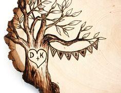 Burlap Banner Design Wood slice rustic theme wedding by JKartshop, $44.99