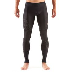 Wiggle | SKINS A400 Starlight Long Tights | Compression Base Layers